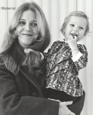 bab Gwyneth Paltrow and mother actress Blythe Danner
