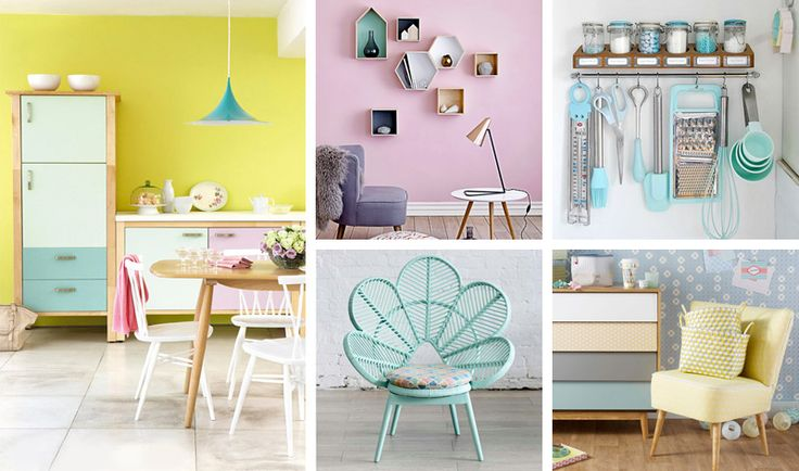 Arredare la casa con i colori pastello  #pastel #color #inspiration #home #decor