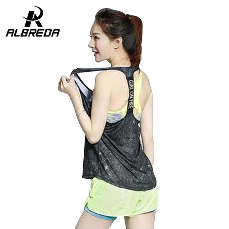 NEW Professional sports vest female fitness yoga running vest quick-drying breathable loose smock female vest RODEX