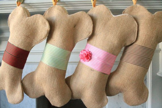 Personalized Dog Christmas Stocking Unique by ChristmasClaude