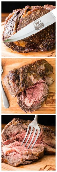 Make the perfect bone-in rib roast with this ultra simple recipe.  Sponsored by Certified Angus Beef.