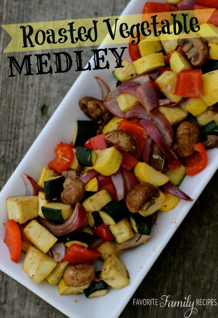 Roasted Vegetable Medley -                                                                                                                                                                                            Sweet Basil                                                                   • That's you!                                                                                                                                                   Comment