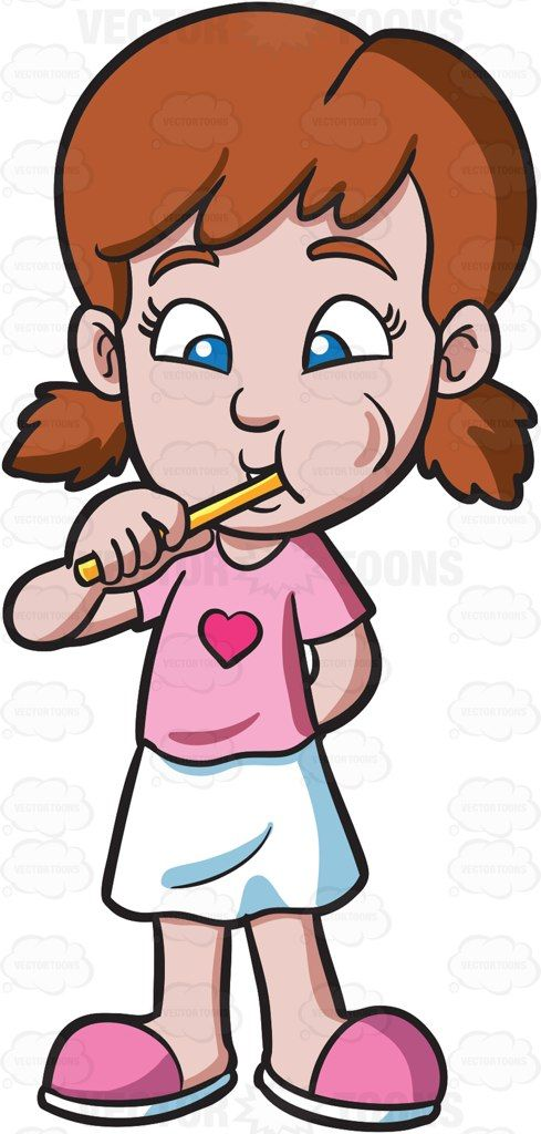 Clip Art Brushing Teeth Clipart 1000 ideas about brush teeth clipart on pinterest dentistry cartoon a girl brushing her vector clip art with commercial use rights download instantly