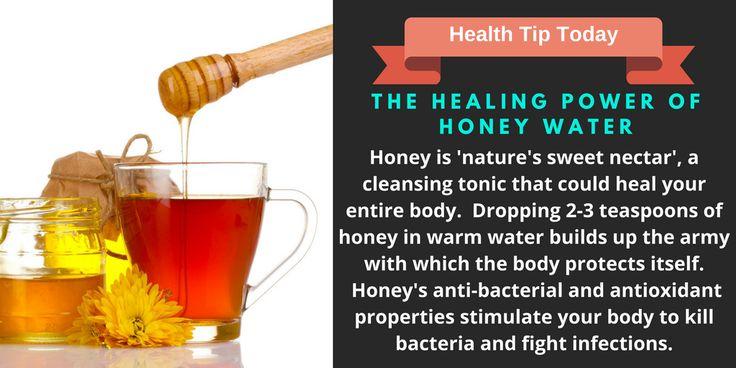 The Healing Power of Honey Water