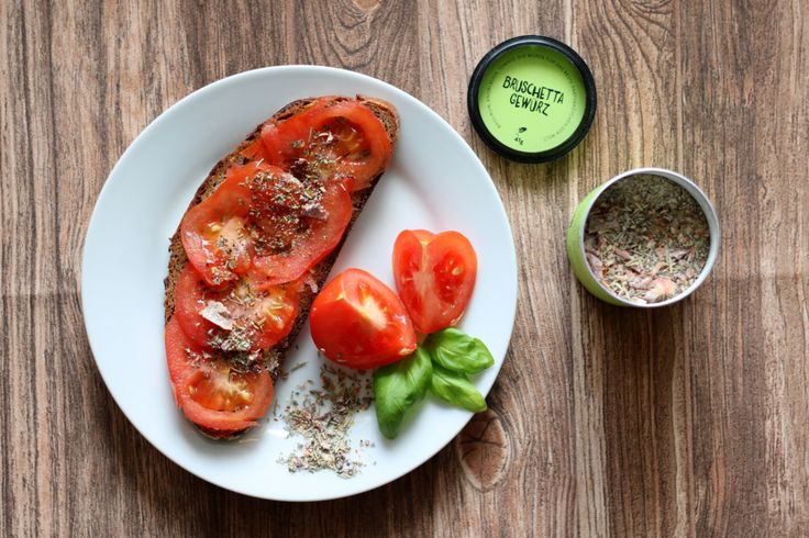Tomatenbrot mit #JustSpices Bruschetta Gewürz - Inspiraion von absolute-brightside.de