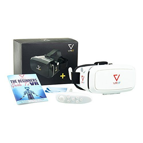 VRIT VR Headset Starter Kit, Includes Bluetooth Remote, Guide To Virtual Reality Book, The Ultimate VR St No description (Barcode EAN = 0643415938911). http://www.comparestoreprices.co.uk/december-2016-4/vrit-vr-headset-starter-kit-includes-bluetooth-remote-guide-to-virtual-reality-book-the-ultimate-vr-st.asp