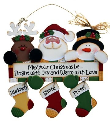 Christmas Friends Pattern Packet