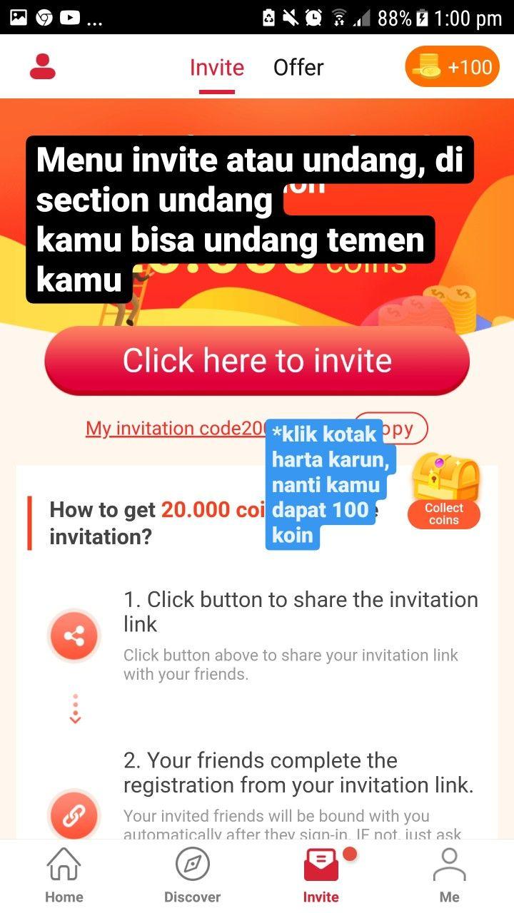 Cashzine Indonesia Aplikasi Penghasil Uang 6 Aplikasi Koin Undangan