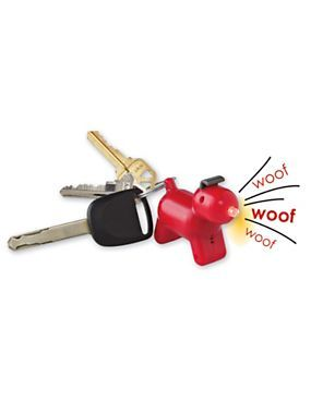 Barking Key Finder - Find Keys - Key Locator - Clap your hands and it barks and the nose lights up   This is genius