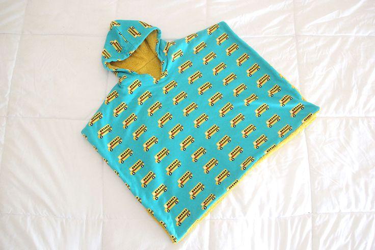 DIY Como hacer poncho toalla para niños (patrones gratis) | | Oh, Mother Mine DIY!!