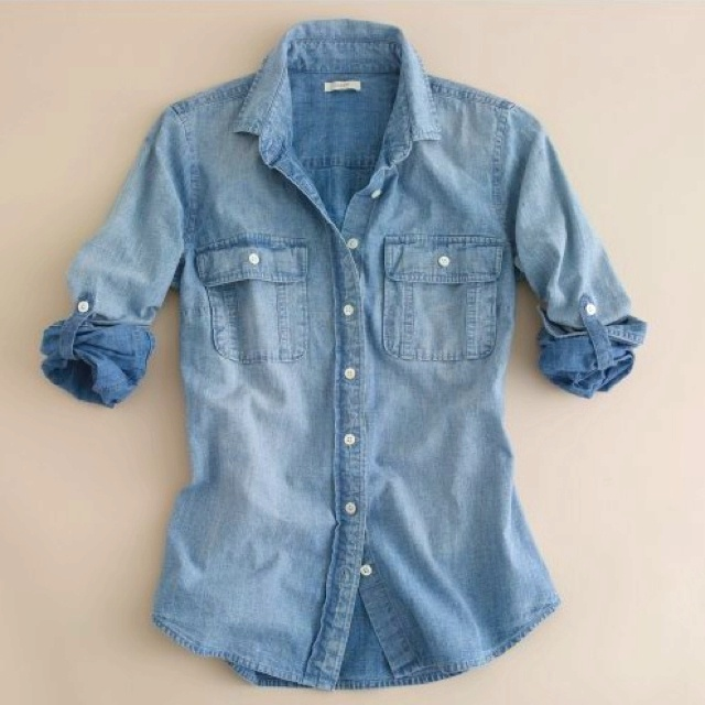 108 best Denim shirt images on Pinterest | Denim shirts, Jean ...