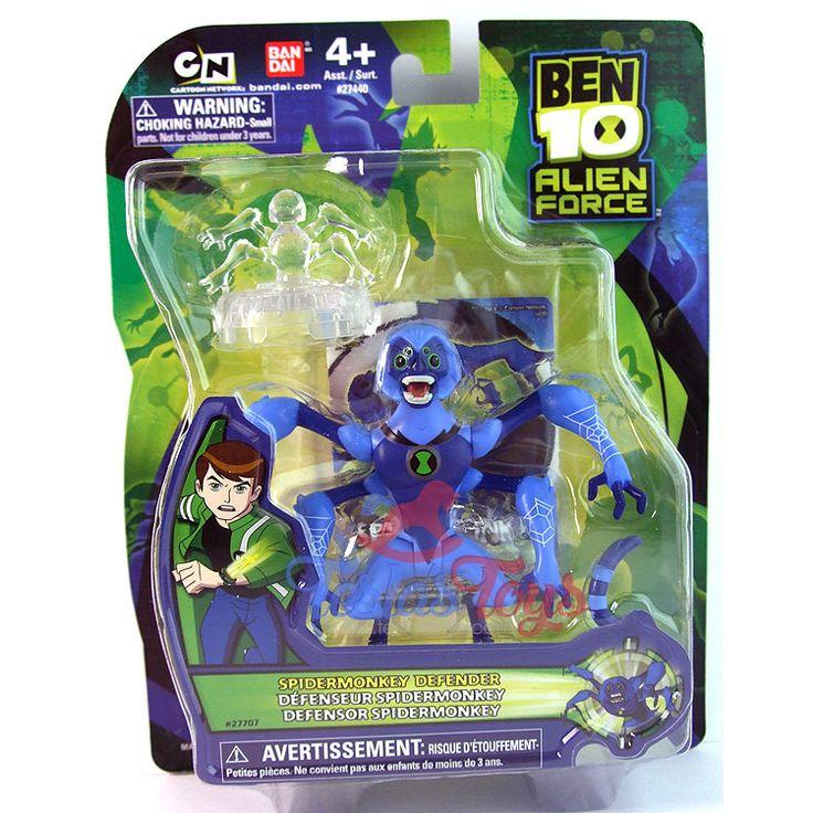 Ben 10 Alien Force Action Figure - Spidermonkey Defender  #actionfigure #ben10 #ben10alienforce #spidermonkey