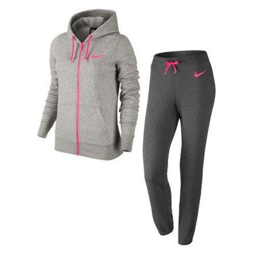 #Nike #Damen #Club #FT #Tracksuit #Trainingsanzug, #Dunkelgrau/Heidekraut/Hyper #Pink, #S Nike Damen Club FT Tracksuit Trainingsanzug, Dunkelgrau/Heidekraut/Hyper Pink, S, , Bietet einen hohen Tragekomfort und angenehme Wärme in kalten Turnhallen und auf dem Sportplatz., Die Jacke setzt mit dem kontrastfarbigen Full-Zipp-Reißverschluss echt stylische Elemente, stylische Kängurutasche, übergroße Kapuze schützt effektiv vor den Launen des Wettergottes., Der elastische Bund ist extra breit…