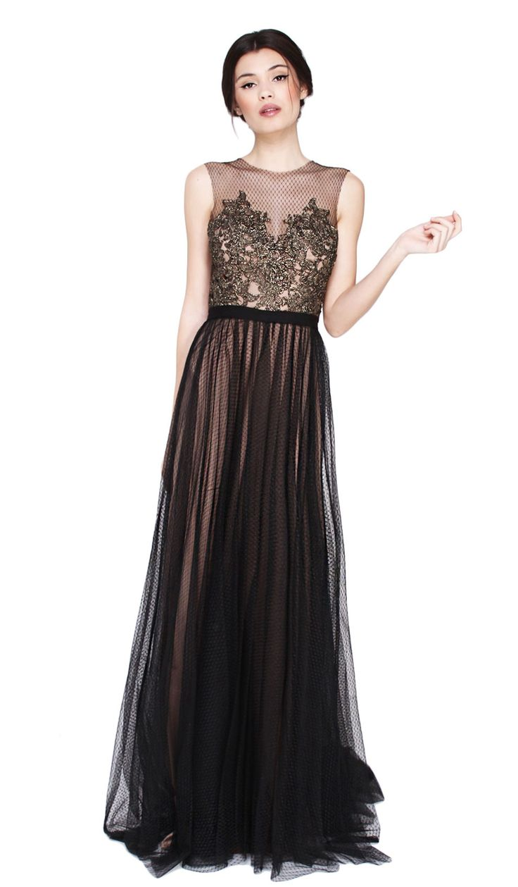 Buy this amazing antique gold and black gown from Catherine Deane with the most incredible detail for your ...