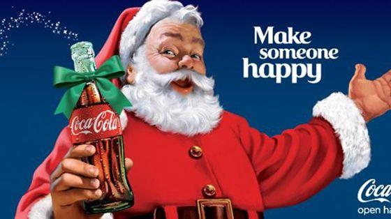 Mos Craciun by Coca Cola În 1931 Moș Crăciun se bucură de și mai multa faimă în momentul în care imaginea lui este reînnoită și consolidată de o campanie publicitară în folosul giganticului Coca-Cola. Desenatorul Haddon Sundblom a avut grijă să îi confere o imagine cât se poate de prietenoasă: o burtă amuzantă, obraji roșii, o atitudine tolerantă, un aer jovial. Această imagine a fost folosita din 1931 și până astăzi de marea companie pentru promovarea personajului, dar și a băuturii…