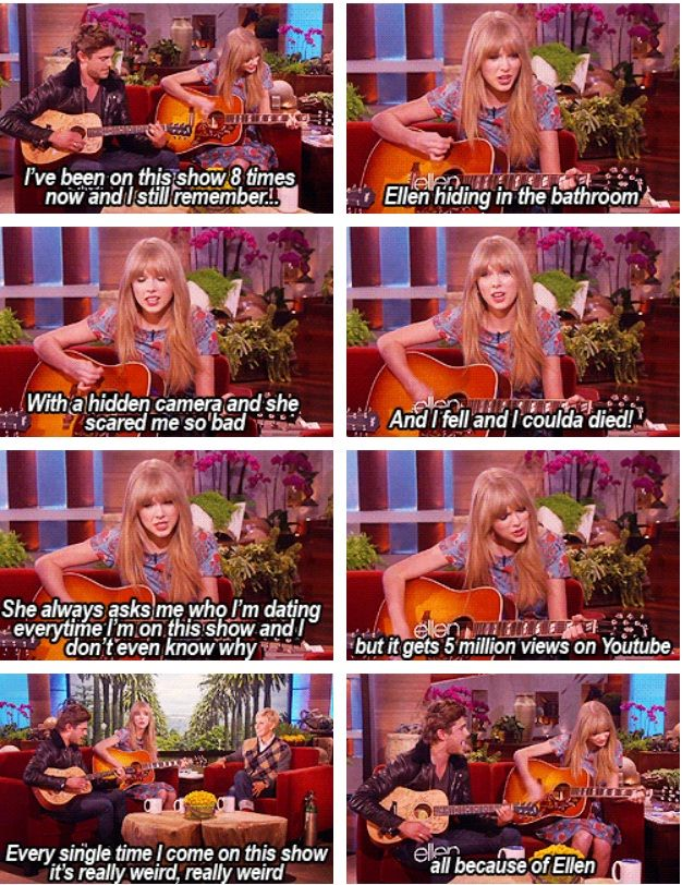 Taylor Swift & Zac Efron one of the best performance on Ellen :)