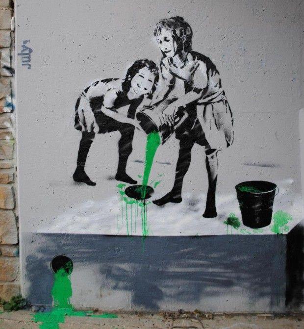 1000 Ideas About Stencil Street Art On Pinterest Banksy