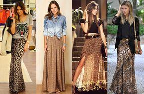 Como Usar: Saia Longa | I Love Fashion
