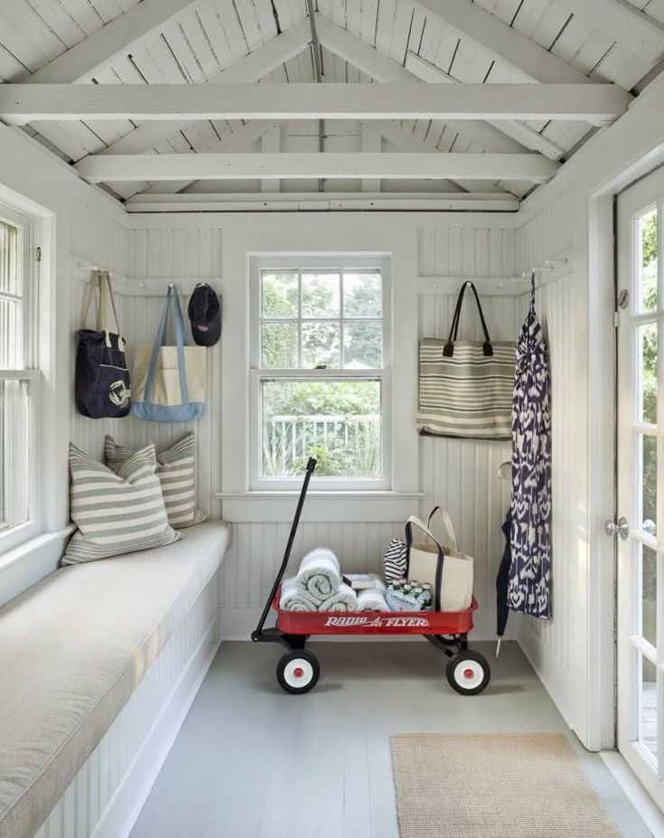 white beach house