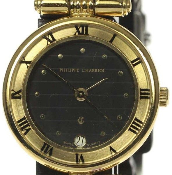 Philippe Charriol ST.TROPEZ Stainless Steel / Gold Plated 24.5mm Womens Watch
