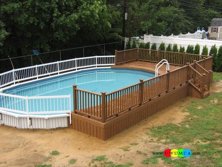 Best 25 Above Ground Pool Ladders Ideas On Pinterest