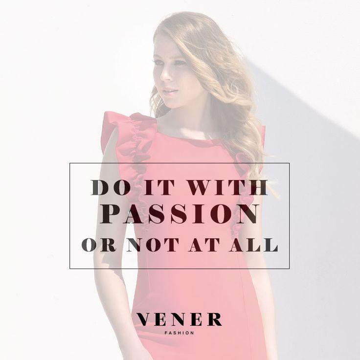 Καλή εβδομάδα! Χτυπάμε κόκκινο.. με πάθος, δύναμη και αποφασιστικότητα!  #passion #vener #red #dress #ss215 #spring