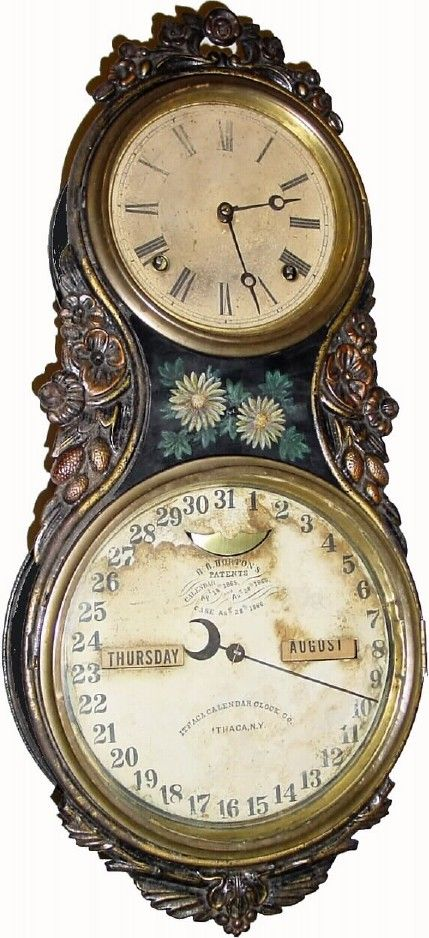 The Ithaca Calendar Clock Company, was the height of technology of the era. Some of their clocks had one gear that took four years to make a full revolution in order to account for leap year.