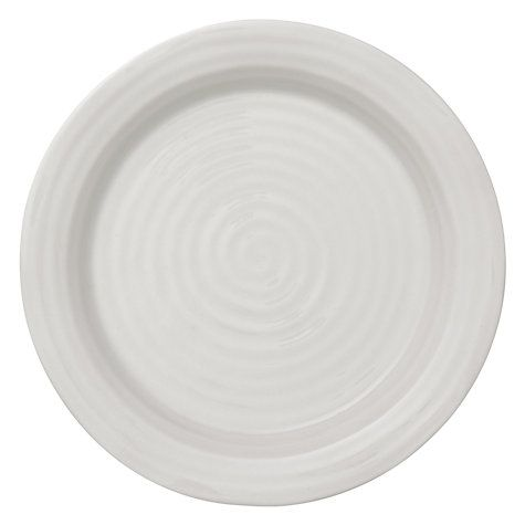 Buy Sophie Conran for Portmeirion Tea Plate, White, 15cm Online at johnlewis.com