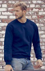 Navy 71000 Anvil Ring-Spun Crewneck Sweatshirt