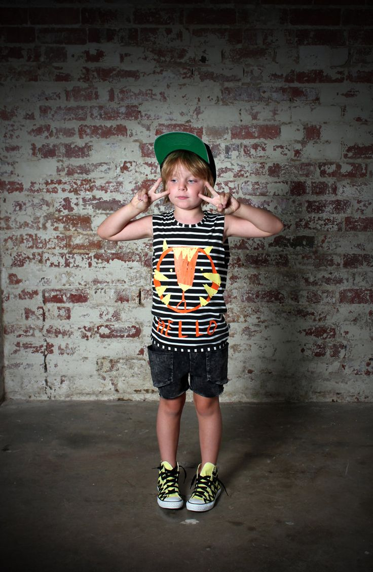 Minti Tiger Sleeveless Tee http://www.rockies.co.nz/estore/style/mntm320bs14ti.aspx