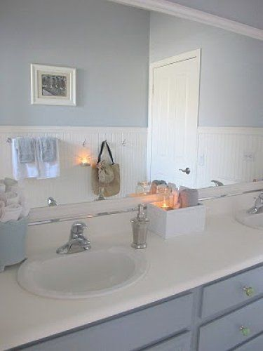Valspar wall colors and gray paint colors on pinterest for Valspar bathroom colors