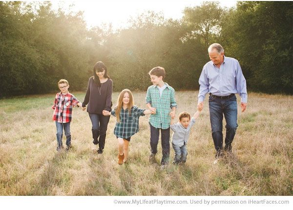 Inspiring Grandparent Photo Ideas - Portrait by My Life at Playtime via iHeartFaces.com