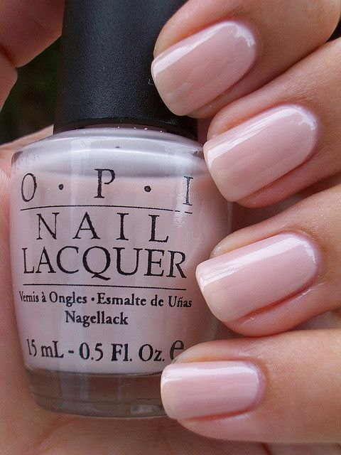 OPI Get Me to the Taj on Time. Great bridal neutral - in gel would work through the honeymoon! #zoomwedding
