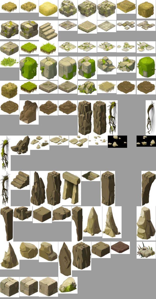 Rocks concept art