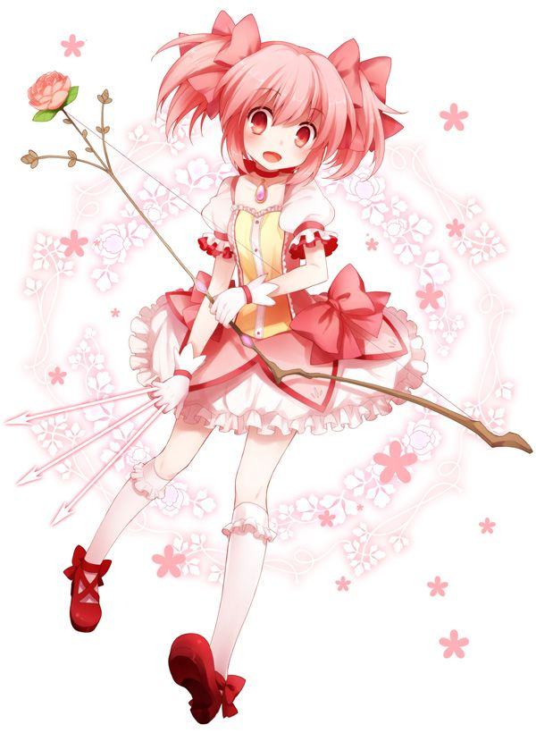 Madoka With Bow And Arrows