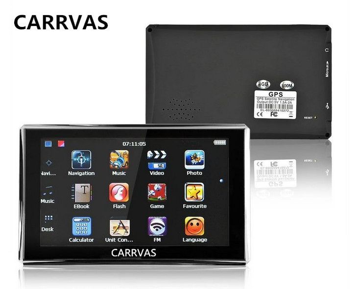 CARRVAS 5 inch 800Mhz CPU Car Gps Navigation Sat Nav, 4GB with 2016 maps for Europe Russia Belarus Ukraine KZ //Price: $41.41//     #gadgets
