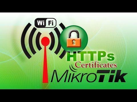 Agratitudesign Impression: Redirect HTTPS Hotspot Login Page Mikrotik Self-Signed Certificate