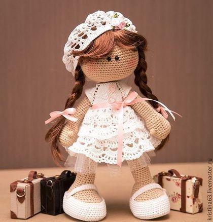 Человечки ручной работы. Ярмарка Мастеров - ручная работа Вязаная кукла. Handmade.
