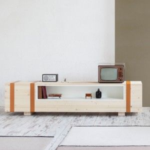 Daniele Cristiano's Calibro sideboard references an old ammunition box