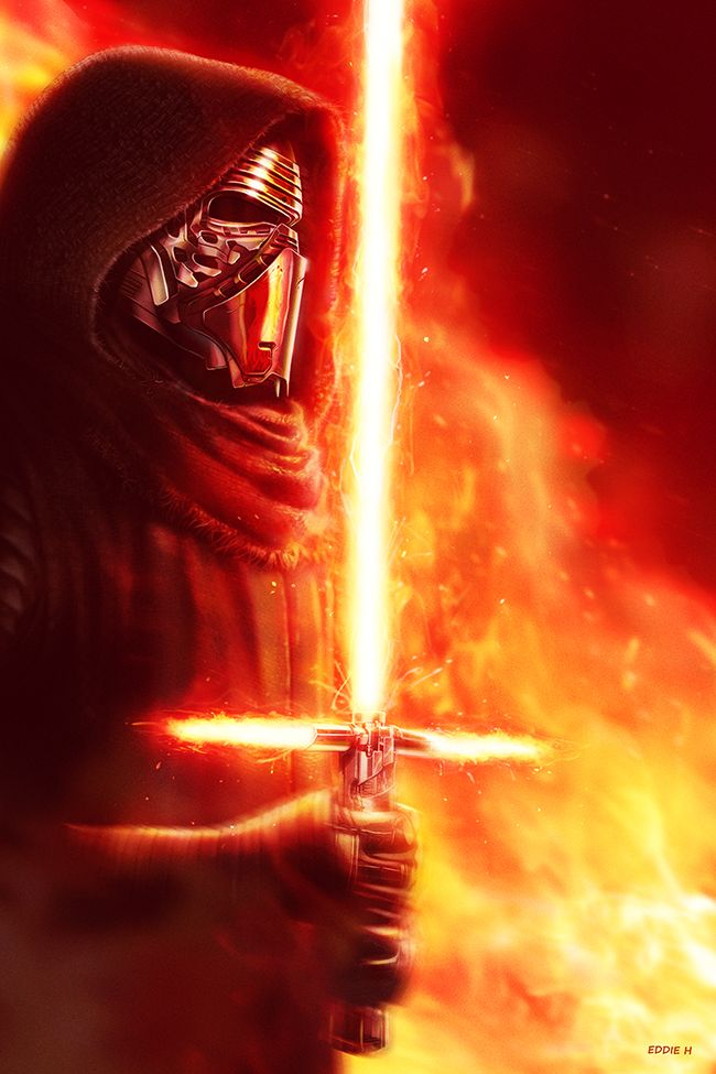 Kylo Ren - The Force Awakens by Eddie Holly
