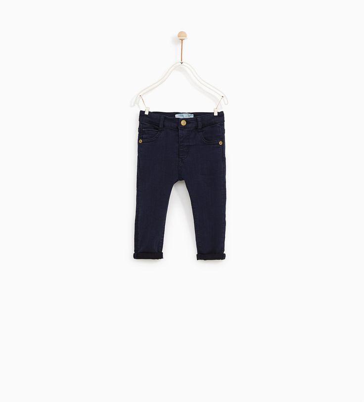 Jeans cor (marinho): ZARA KIDS 3-4 (12,95€)
