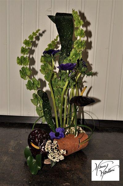 Flowers art,Hanna Kontturi