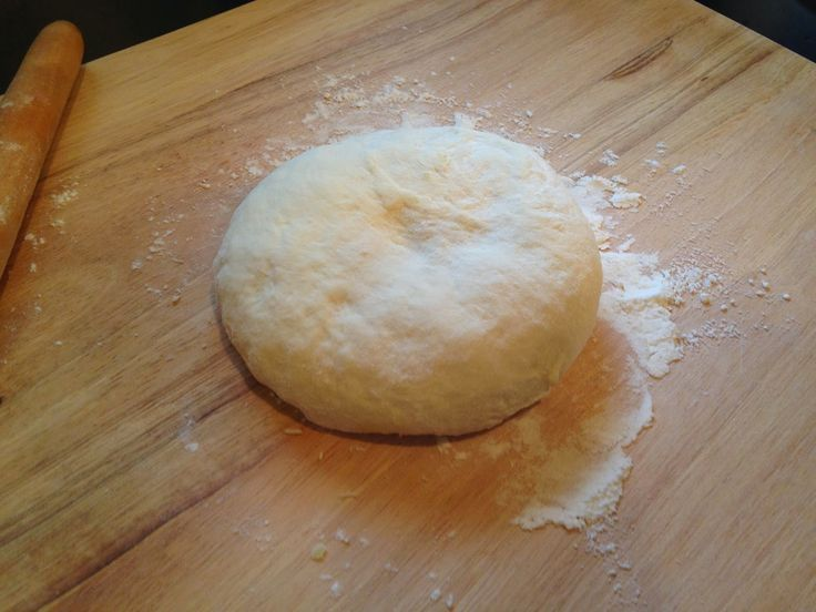 Homemade No Knead Pizza Dough by Frugal Allergy Mom