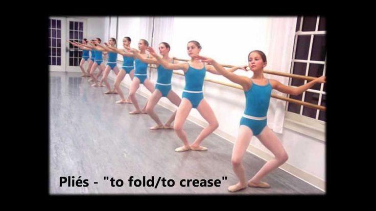 Ballet barre music.