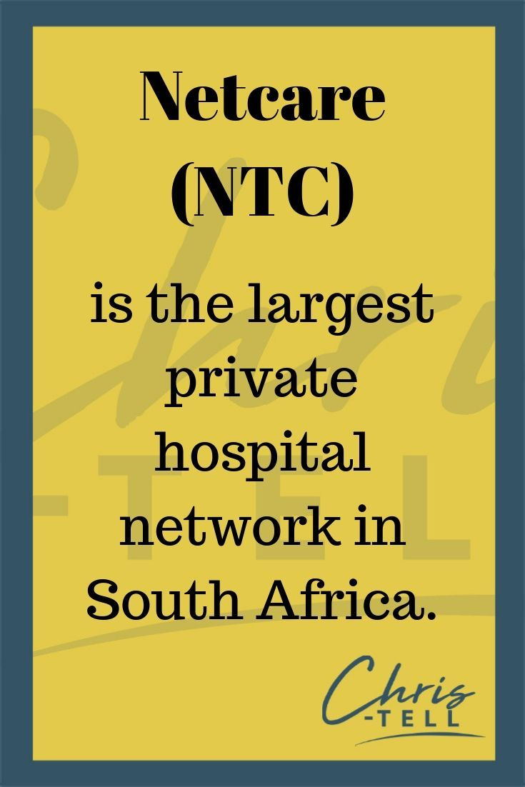 The Company We Want To Introduce To You Today Is Netcare Ntc