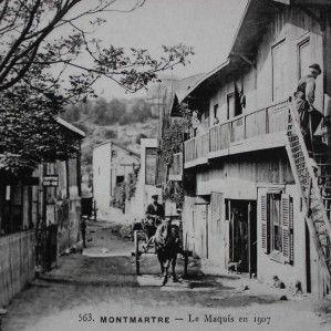 Le maquis à l'emplacement de l'avenue Junot, de la place Constantin Pecqueur et du côté pair de la rue Caulaincourt. Rue Caulaincourt (côté pair) En complément à l'article sur Le maquis de Montmartre, voici quelques cartes postales qui étaient prisées...