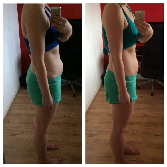 Todays Challenges For Crucial Aspects Of Weightlifting: 30 Day Ab And Squat Challenge - Before And After