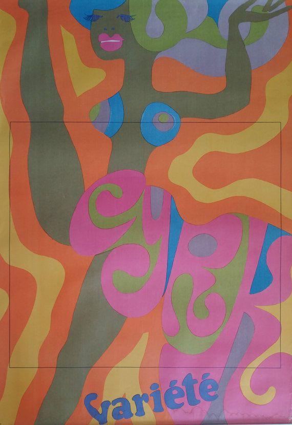 1968 CYRK Vari�t� by Tadeusz Jodlowski - Original Vintage Poster