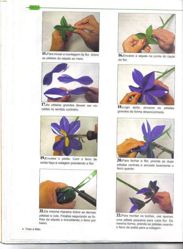 arranjos florais artificiais passo a passo