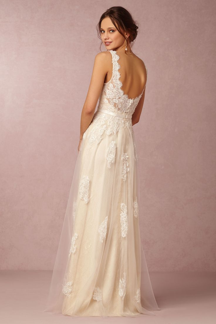 Georgia Gown from @BHLDN | GLAM Wedding Ideas